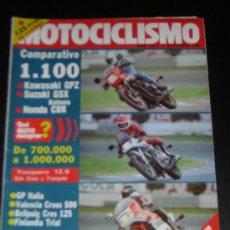 Coches y Motocicletas: MOTOCICLISMO Nº 767 - SEP 1982 - HONDA CB 1100 R / KAWASAKI GPZ 1100 / SUZUKI GSX 1100 KATANA . Lote 10056841