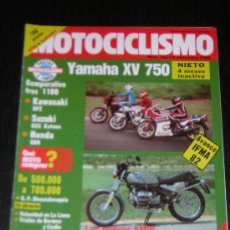 Coches y Motocicletas: MOTOCICLISMO Nº 766 - SEP 1982 - KAWASAKI GPZ 1100 / SUZUKI GSX 1100 KATANA / HONDA CB 1100 R . Lote 32227371