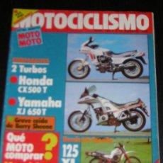Coches y Motocicletas - MOTOCICLISMO Nº 764 - AGO 1982 - HONDA CX 500 T / YAMAHA XJ 650 T / HONDA XL 125 / SANTIAGO HERRERO - 13455837