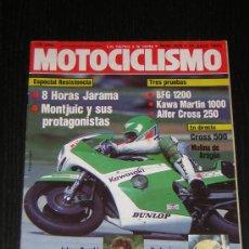Coches y Motocicletas: MOTOCICLISMO Nº 809 - JUL 1983 - BFG 1300 / KAWASAKI 1000 J MARTIN / ALFER CROSS / 24 HORAS MONTJUIC. Lote 10121053