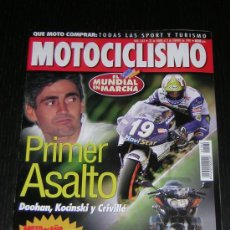 Coches y Motocicletas: MOTOCICLISMO Nº 1562 - ENE 1998 - KAWASAKI ZX 9R / BMW R 1100 S / PARIS DAKAR / MUNDIAL. Lote 10127362