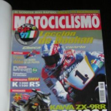 Coches y Motocicletas: MOTOCICLISMO Nº 1533 - JUL 1997 - BMW K 1200 RS - K 1100 RS / GP IMOLA / 24 HORAS MONTJUIC . Lote 10135464