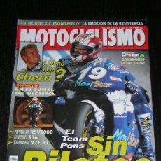 Coches y Motocicletas: MOTOCICLISMO Nº 1586 - JUL 1998 - KAWASAKI VN 1500 / TRIUMPH SPRINT 900 - T 695 / 24 HORAS CATALUÑA. Lote 10164868