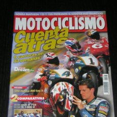 Coches y Motocicletas: MOTOCICLISMO Nº 1591 - AGO 1998 - SUZUKI GSX 750 R - TL 1000 R - VL 1500 INTRUDER / KAWASAKI VN 1500. Lote 189959152