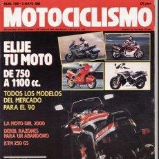 Coches y Motocicletas: REVISTA MOTOCICLISMO Nº 1158 AÑO 1990. PRUEBA: KTM GS 80.. Lote 23651458