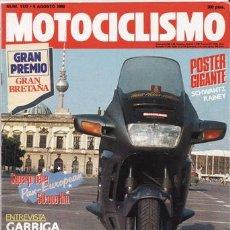 Coches y Motocicletas - REVISTA MOTOCICLISMO Nº 1172 AÑO 1990. PRUEBAS: HONDA PAN-EUROPEAN. COMPARATIVA TRAIL 125. - 27171604