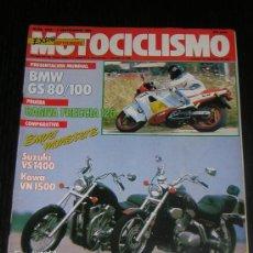 Coches y Motocicletas - MOTOCICLISMO Nº 1019 - SEP 1987 - KAWASAKI VN 1500 - VS 1400 / BMW R 80 100 GS / CAGIVA FRECCIA 125 - 12912535
