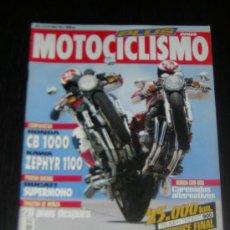 Coches y Motocicletas: MOTOCICLISMO Nº 1319 - JUNIO 1993 - HONDA CB 1000 / KAWASAKI ZEPHYR 1100 / DUCATI SUPERMONO / SV 50. Lote 19693099