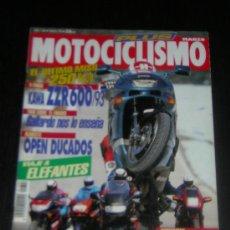 Coches y Motocicletas: MOTOCICLISMO Nº 1306 - MAR 1993 - KAWASAKI ZZR 600 - 1100 / HONDA CBR 1000 F / YAMAHA GTS / BMW K RS. Lote 10254021