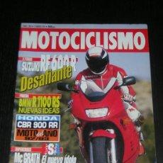 Coches y Motocicletas: MOTOCICLISMO Nº 1303 - FEB 1993 - SUZUKI RF 600 R / BMW R 1100 RS / TRIUMPH TRIDENT 900 / SUPERCROSS. Lote 10254090