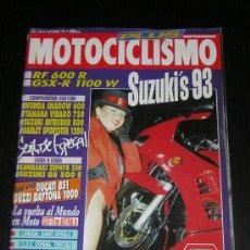 Coches y Motocicletas: MOTOCICLISMO Nº 1280 - SEP 1992 - YAMAHA VIRAGO 750 / HONDA SHADOW 600 / SUZUKI INTRUDER 800 . Lote 11457306