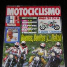 Coches y Motocicletas: MOTOCICLISMO Nº 1274 - JUL 1992 - BMW K 75 / KAWASAKI ZEPHYR 750 / HONDA CB 750 / TRIUMPH 750 . Lote 16950349