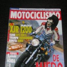 Coches y Motocicletas: MOTOCICLISMO Nº 1411 - MAR 1995 - YAMAHA XJR 1200 / KAWASAKI GPZ 1100 S / BIMOTA BB1 SUPERMONO . Lote 10416612