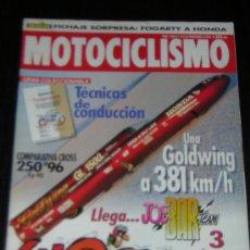 Coches y Motocicletas: MOTOCICLISMO Nº 1446 - NOVIEMBRE 1995 - BMW R 1100 RT - K 1100 LT / HONDA CR 250. Lote 10835836