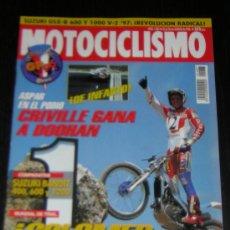Coches y Motocicletas: MOTOCICLISMO Nº 1487 - AGOSTO 1996 - SUZUKI BANDIT 400 - 600 - 1200 / YAMAHA DRAGSTAR 400. Lote 10836136