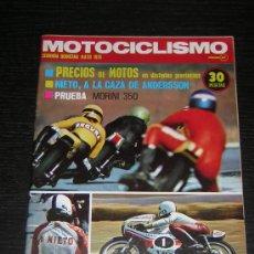 Coches y Motocicletas: MOTOCICLISMO 2ª QUINCENA MAY 1974 - MORINI 350 / GP AUSTRIA / KARTING / MOTO CROSS. Lote 37440655