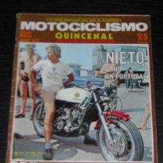 Coches y Motocicletas: MOTOCICLISMO 2ª QUINCENA AGO 1972 - GUZZI GT 850 / GP FINLANDIA / TRIAL / MOTO CROSS. Lote 16996252