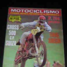 Coches y Motocicletas: MOTOCICLISMO Nº 526 - SEP 1977 - TRIAL SUECIA / DUCATI DARMAH 900 SPORT DESMO / CROSS. Lote 11194230
