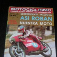 Coches y Motocicletas: MOTOCICLISMO Nº 525 - AGO 1977 - CALAFAT / GP AUSTRIA / MOTO CROSS. Lote 11194236