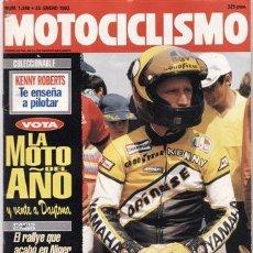 Coches y Motocicletas: REVISTA MOTOCICLISMO Nº 1248 AÑO 1992. PRUEBA: HONDA CB 750. BMW R 100 ROADSTER. HONDA NSR 250.. Lote 25043062