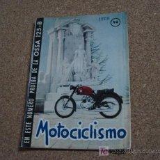 Coches y Motocicletas: MOTOCICLISMO NUM 94, DE 1956, IV CAMPEONATO DE ESPAÑA DE REGULARIDAD.. Lote 17802720