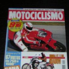 Coches y Motocicletas: MOTOCICLISMO Nº 1354 - FEB 1994 - DUCATI 916 / HONDA VT 1100 SHADOW / APRILIA CLIMBER 280 R . Lote 11457445