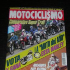 Coches y Motocicletas: MOTOCICLISMO Nº 1352 - ENE 1994 - BMW K 1100 RS / TRIUMPH TROPHY 1200 / F 650 / HONDA DOMINATOR . Lote 11457493