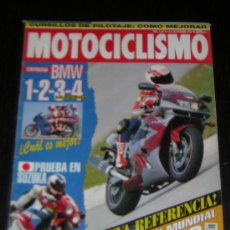 Coches y Motocicletas: MOTOCICLISMO Nº 1347 - DIC 1993 - KAWASAKI ZX 9R / BMW K 1100 RS K 75 S R 1100 RS F 650 / RC 45. Lote 11472584