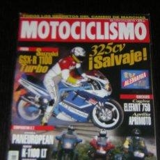 Coches y Motocicletas: MOTOCICLISMO Nº 1372 - JUN 1994 - SUZUKI GSX R 1100 TURBO / BMW K 1100 LT / HONDA ST / YAMAHA GTS. Lote 11472852