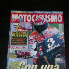 Coches y Motocicletas: MOTOCICLISMO Nº 1650 - OCT 1999 - YAMAHA R1 CARLOS CHECA / SALON PARIS / HARLEY FLSTF FAT BOY. Lote 11585898