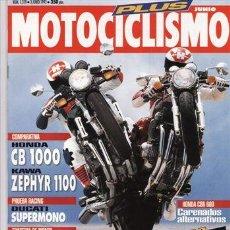 Coches y Motocicletas: REVISTA MOTOCICLISMO Nº 1319 AÑO 1993. PRU:DUCATI SUPERMOTO.TRIUMPH TRIDENT 900. COMP: HONDA CB 1000. Lote 51926931