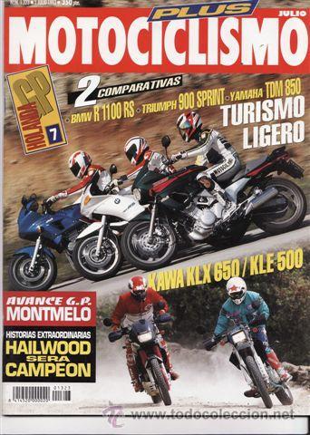 REVISTA MOTOCICLISMO Nº 1323 AÑO 1993. COMPARATIVA: YAMAHA TDM 850, TRIUMPH TRIDENT 900 SPRINT Y (Coches y Motocicletas - Revistas de Motos y Motocicletas)