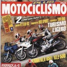 Coches y Motocicletas: REVISTA MOTOCICLISMO Nº 1323 AÑO 1993. COMPARATIVA: YAMAHA TDM 850, TRIUMPH TRIDENT 900 SPRINT Y. Lote 45909269