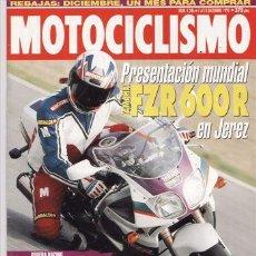 Coches y Motocicletas: REVISTA MOTOCICLISMO Nº 1346 AÑO 1993. PRUEBA: BMW F 650. KAWASAKI KX 250 (94). RUMI STREER MONO.. Lote 109489566