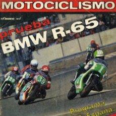 Coches y Motocicletas: MOTOCICLISMO 610 19-5-79 PRUEBA BMW R-65. Lote 24946338