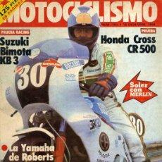 Coches y Motocicletas: MOTOCICLISMO 781 18-12-82 HONDA CR500 SUZUKI BIMOTA KB3 RIEJU VARIMAT. Lote 288533543