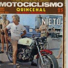 Coches y Motocicletas: MOTOCICLISMO 2ª AGOSTO 1972 . GUZZI GT-850. Lote 12241229