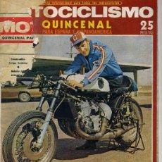 Coches y Motocicletas: MOTOCICLISMO 1º SETIEMBRE 1972 HAGGLUNDS XM-72, MOTO DEL EJERCITO SUECO. Lote 12241280