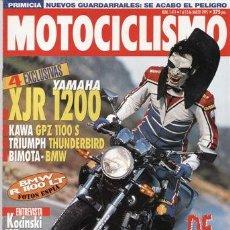 Coches y Motocicletas: REVISTA MOTOCICLISMO Nº 1411 AÑO 1995. PRUEBA: KAWASAKI GPZ 1100. YAMAHA ZEST 80. YANMAHA XJR 1200.. Lote 20553210