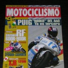 Coches y Motocicletas: MOTOCICLISMO Nº 1376 - JUL 1994 - SUZUKI RF 600 R - 900 R / YAMAHA XJR 1200 / YAMAHA EXUP SPONDON. Lote 245900150