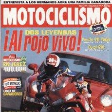 Coches y Motocicletas: REVISTA MOTOCICLISMO Nº 1419 AÑO 1995.PRU: ITALJET FORUMULA 50.COMP: PORSCHE 911 TURBO Y DUCATI 916.. Lote 20570252