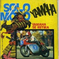 Coches y Motocicletas: SOLO MOTO Nº19 21-11-75 BULTACO MATADOR MK9 KAWASAKI TURBO BARBER'S. Lote 12452214