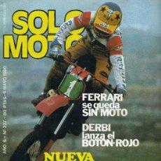 Coches y Motocicletas: SOLO MOTO Nº 237 9-5-80 BENELLI 354. Lote 24468475