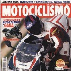 Coches y Motocicletas: REVISTA MOTOCICLISMO Nº 1448 AÑO 1995. PRUEBA: SUZUKI GSX-R 750. KAWASAKI KX 125.. Lote 20636585