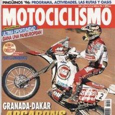 Coches y Motocicletas: REVISTA MOTOCICLISMO Nº 1455 AÑO 1996. PRU: HONDA CBR 600. HARLEY DAVIDSON VR 1000.CAGIVA RIVER 600.. Lote 36076586