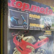 Coches y Motocicletas: REVISTA TOP MOTO - AÑOS 90 - VER NUMEROS. Lote 16001707