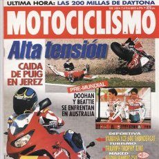 Coches y Motocicletas: REVISTA MOTOCICLISMO Nº 1464 AÑO 1996. PRU:YAMAHA YZF 600 THUNDERCAT.KAWASAKI VULCAN VN 800 CLASSIC.. Lote 38260178