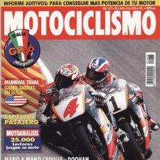Coches y Motocicletas: REVISTA MOTOCICLISMO Nº 1475 AÑO 1996. PRUEBA: YAMAHA FJ 1100. GAS GAS PAMPERA 250.. Lote 20693013