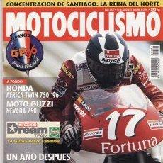 Coches y Motocicletas: REVISTA MOTOCICLISMO Nº 1477 AÑO 1996. PRUEBA: HONDA AFRICA TWIN. MOTO GUZZI NEVADA 750.. Lote 20700754