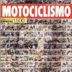 Coches y Motocicletas - REVISTA MOTOCICLISMO Nº 1500 AÑO 1996. COMP: HONDA CBR 1100 XX, KAWASAKI ZZR 1100, SUZUKI GSXR 1100 - 76867845